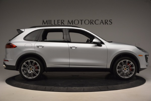 Used 2016 Porsche Cayenne Turbo for sale Sold at Bentley Greenwich in Greenwich CT 06830 9