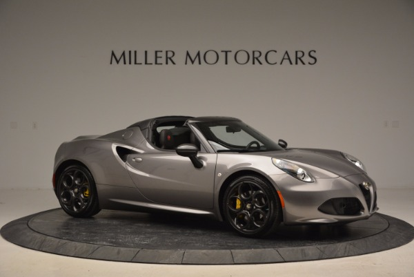 New 2016 Alfa Romeo 4C Spider for sale Sold at Bentley Greenwich in Greenwich CT 06830 10