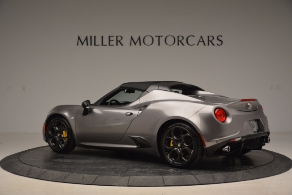 New 2016 Alfa Romeo 4C Spider for sale Sold at Bentley Greenwich in Greenwich CT 06830 16