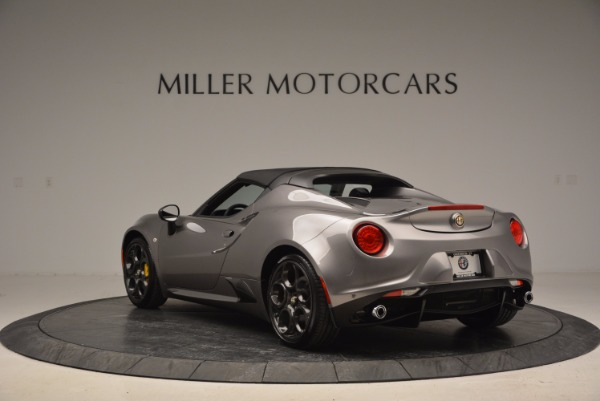 New 2016 Alfa Romeo 4C Spider for sale Sold at Bentley Greenwich in Greenwich CT 06830 17