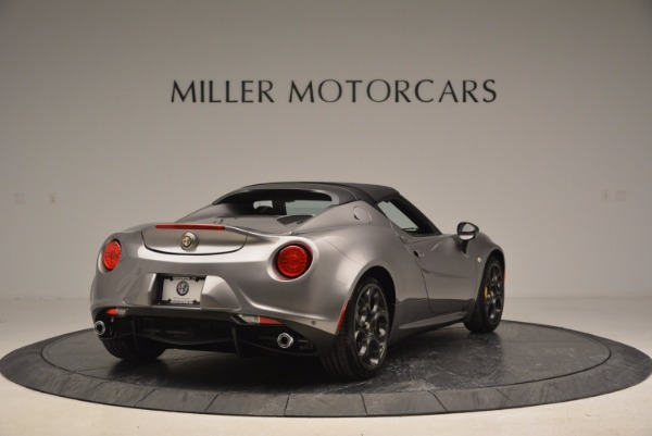 New 2016 Alfa Romeo 4C Spider for sale Sold at Bentley Greenwich in Greenwich CT 06830 19