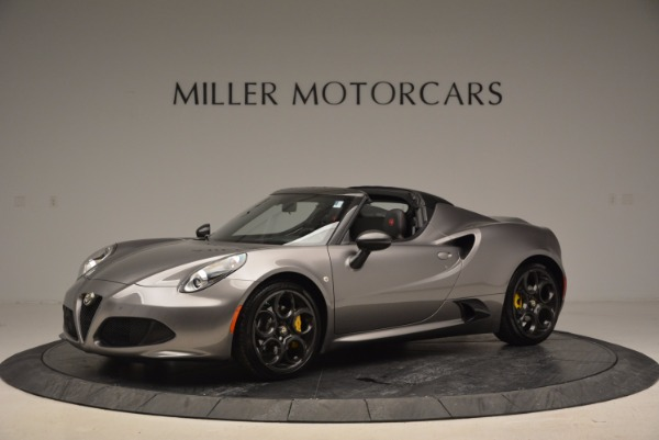 New 2016 Alfa Romeo 4C Spider for sale Sold at Bentley Greenwich in Greenwich CT 06830 2