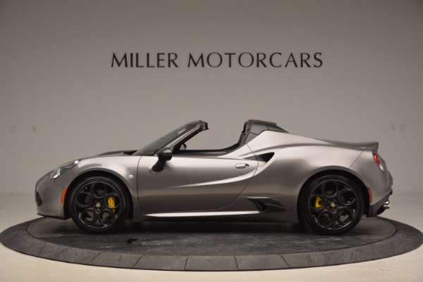 New 2016 Alfa Romeo 4C Spider for sale Sold at Bentley Greenwich in Greenwich CT 06830 3