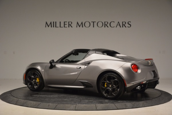 New 2016 Alfa Romeo 4C Spider for sale Sold at Bentley Greenwich in Greenwich CT 06830 4