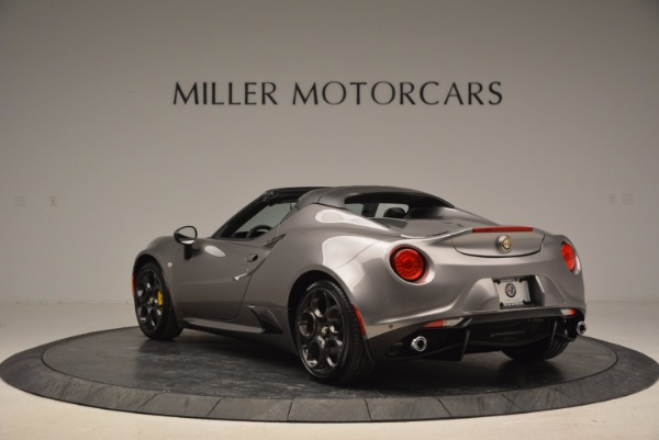 New 2016 Alfa Romeo 4C Spider for sale Sold at Bentley Greenwich in Greenwich CT 06830 5