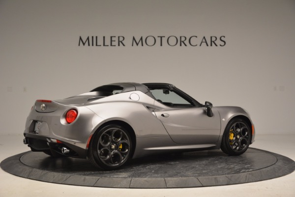 New 2016 Alfa Romeo 4C Spider for sale Sold at Bentley Greenwich in Greenwich CT 06830 8