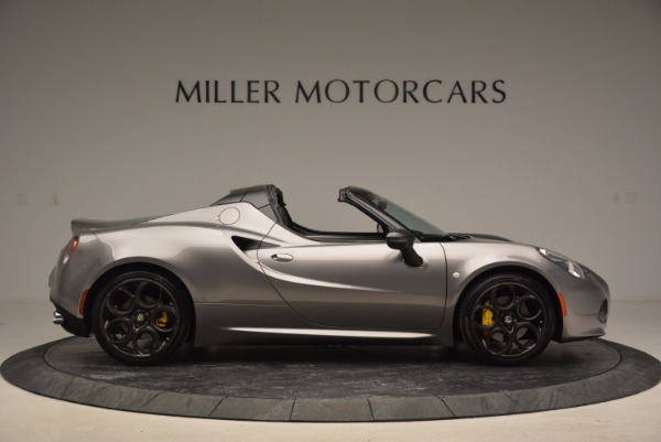 New 2016 Alfa Romeo 4C Spider for sale Sold at Bentley Greenwich in Greenwich CT 06830 9