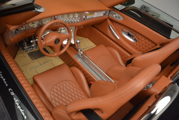 Used 2006 Spyker C8 Spyder for sale Sold at Bentley Greenwich in Greenwich CT 06830 13