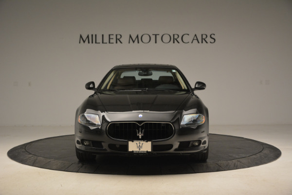 Used 2013 Maserati Quattroporte S for sale Sold at Bentley Greenwich in Greenwich CT 06830 12