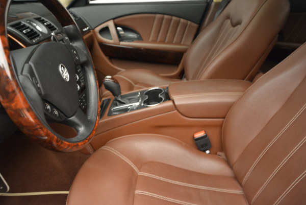 Used 2013 Maserati Quattroporte S for sale Sold at Bentley Greenwich in Greenwich CT 06830 14
