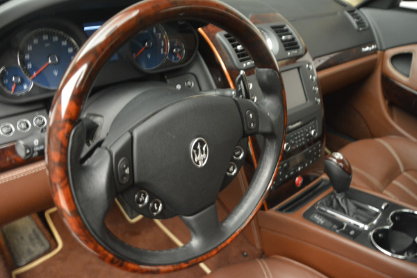 Used 2013 Maserati Quattroporte S for sale Sold at Bentley Greenwich in Greenwich CT 06830 16