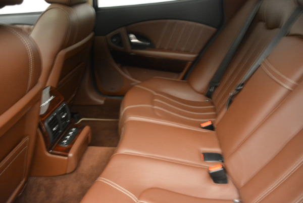 Used 2013 Maserati Quattroporte S for sale Sold at Bentley Greenwich in Greenwich CT 06830 18