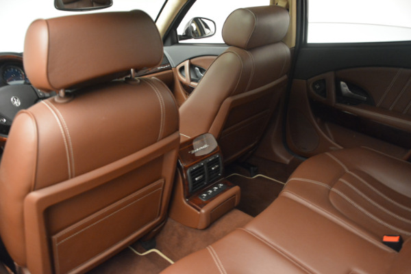 Used 2013 Maserati Quattroporte S for sale Sold at Bentley Greenwich in Greenwich CT 06830 19