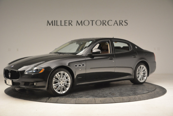 Used 2013 Maserati Quattroporte S for sale Sold at Bentley Greenwich in Greenwich CT 06830 2