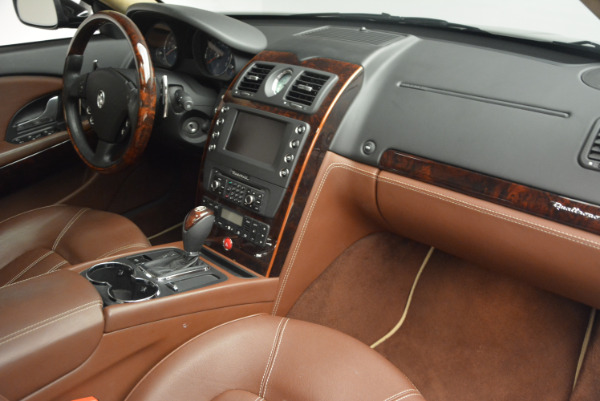 Used 2013 Maserati Quattroporte S for sale Sold at Bentley Greenwich in Greenwich CT 06830 22