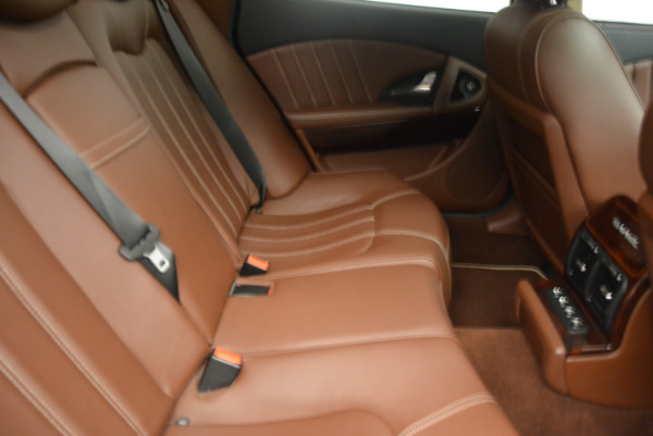 Used 2013 Maserati Quattroporte S for sale Sold at Bentley Greenwich in Greenwich CT 06830 24