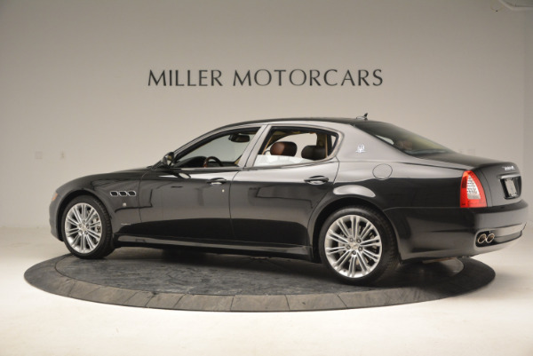 Used 2013 Maserati Quattroporte S for sale Sold at Bentley Greenwich in Greenwich CT 06830 4