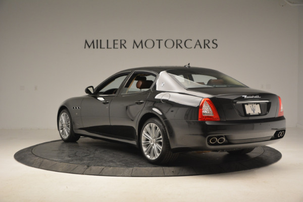Used 2013 Maserati Quattroporte S for sale Sold at Bentley Greenwich in Greenwich CT 06830 5