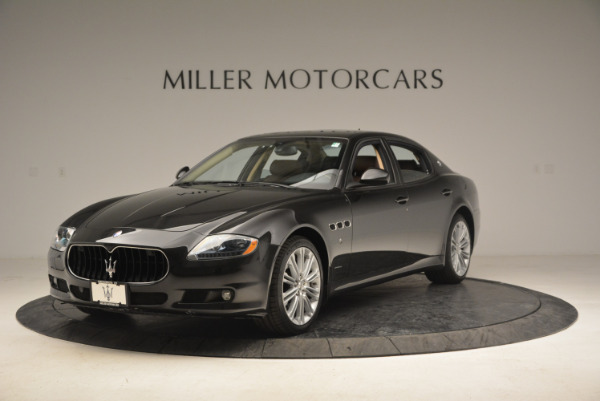 Used 2013 Maserati Quattroporte S for sale Sold at Bentley Greenwich in Greenwich CT 06830 1