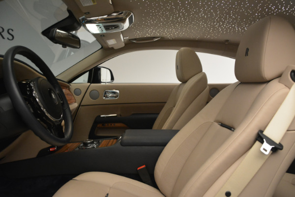 Used 2015 Rolls-Royce Wraith for sale $178,900 at Bentley Greenwich in Greenwich CT 06830 18