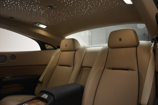 Used 2015 Rolls-Royce Wraith for sale $178,900 at Bentley Greenwich in Greenwich CT 06830 22