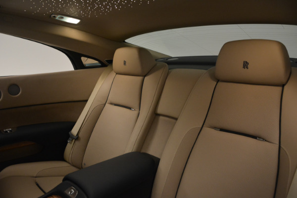 Used 2015 Rolls-Royce Wraith for sale $178,900 at Bentley Greenwich in Greenwich CT 06830 23