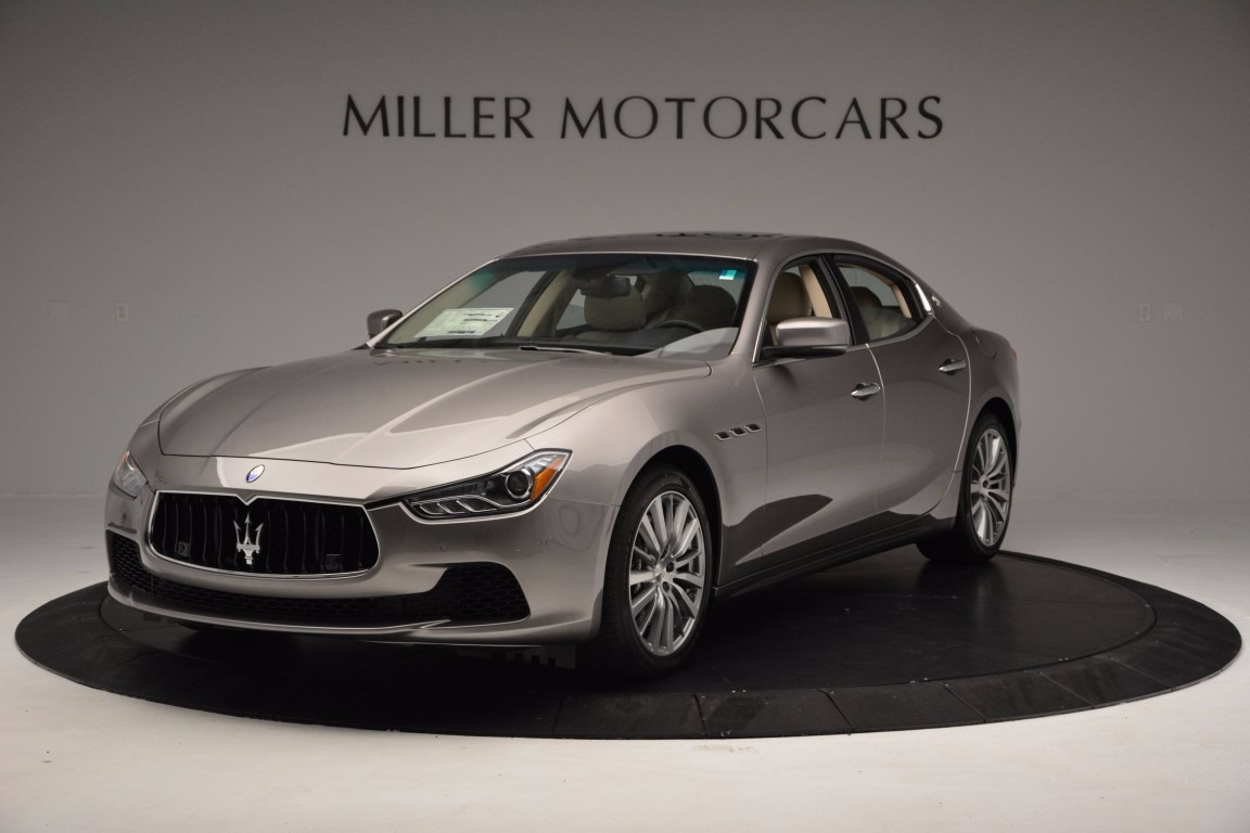 New 2017 Maserati Ghibli S Q4 EX-Loaner for sale Sold at Bentley Greenwich in Greenwich CT 06830 1