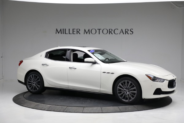New 2017 Maserati Ghibli S Q4 EX-Loaner for sale Sold at Bentley Greenwich in Greenwich CT 06830 10