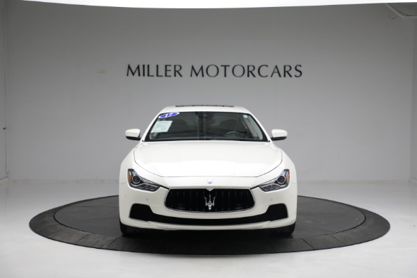 New 2017 Maserati Ghibli S Q4 EX-Loaner for sale Sold at Bentley Greenwich in Greenwich CT 06830 12