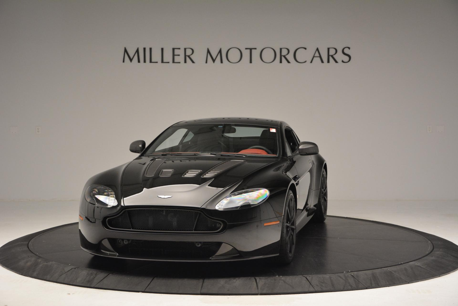 New 2015 Aston Martin V12 Vantage S for sale Sold at Bentley Greenwich in Greenwich CT 06830 1