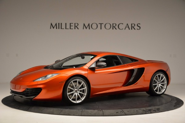 Used 2012 McLaren MP4-12C for sale Sold at Bentley Greenwich in Greenwich CT 06830 2