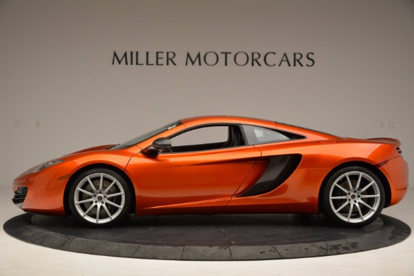 Used 2012 McLaren MP4-12C for sale Sold at Bentley Greenwich in Greenwich CT 06830 3