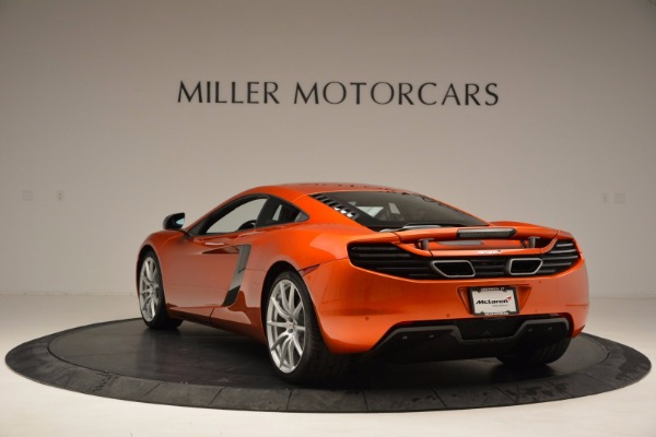 Used 2012 McLaren MP4-12C for sale Sold at Bentley Greenwich in Greenwich CT 06830 5
