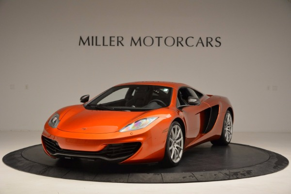 Used 2012 McLaren MP4-12C for sale Sold at Bentley Greenwich in Greenwich CT 06830 1