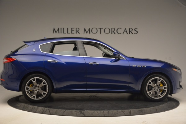 Used 2017 Maserati Levante for sale Sold at Bentley Greenwich in Greenwich CT 06830 9