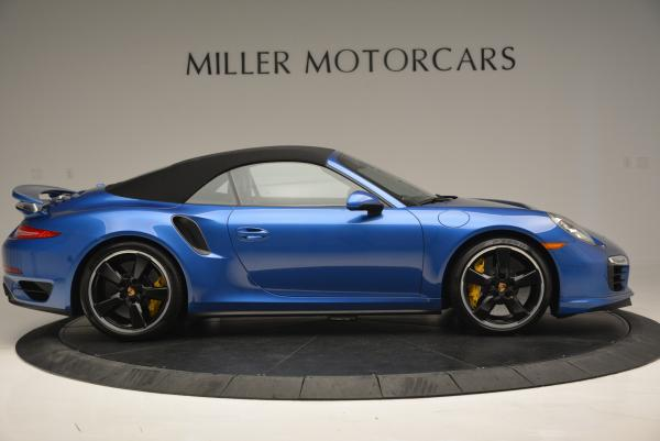 Used 2014 Porsche 911 Turbo S for sale Sold at Bentley Greenwich in Greenwich CT 06830 15