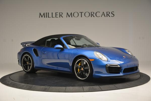 Used 2014 Porsche 911 Turbo S for sale Sold at Bentley Greenwich in Greenwich CT 06830 16