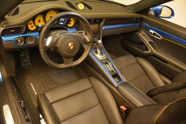 Used 2014 Porsche 911 Turbo S for sale Sold at Bentley Greenwich in Greenwich CT 06830 18