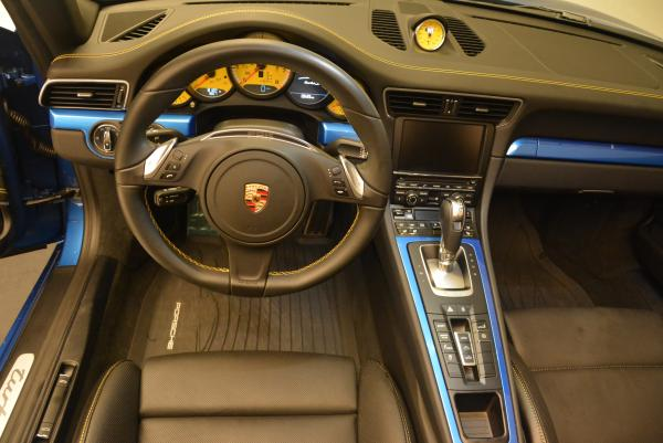 Used 2014 Porsche 911 Turbo S for sale Sold at Bentley Greenwich in Greenwich CT 06830 19
