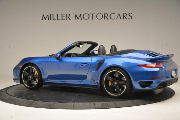 Used 2014 Porsche 911 Turbo S for sale Sold at Bentley Greenwich in Greenwich CT 06830 4
