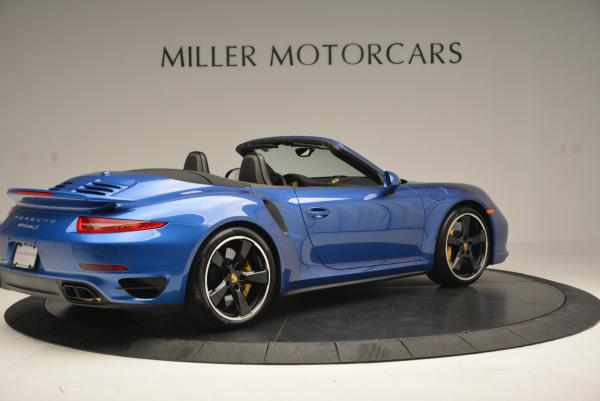 Used 2014 Porsche 911 Turbo S for sale Sold at Bentley Greenwich in Greenwich CT 06830 8