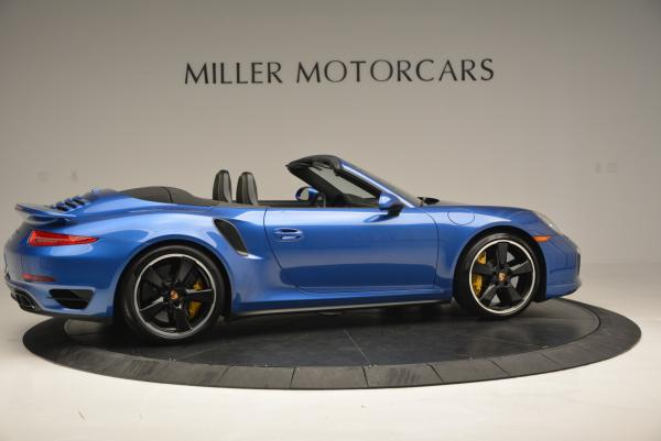 Used 2014 Porsche 911 Turbo S for sale Sold at Bentley Greenwich in Greenwich CT 06830 9