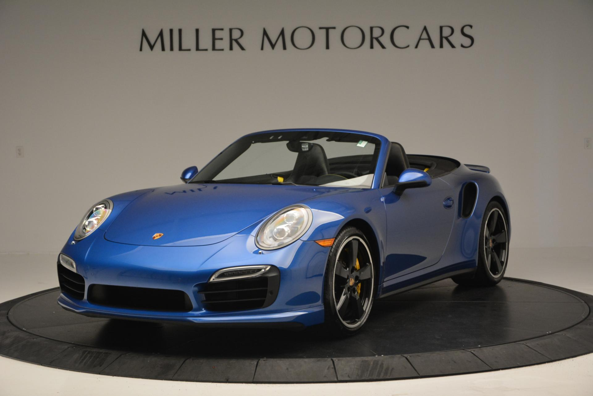 Used 2014 Porsche 911 Turbo S for sale Sold at Bentley Greenwich in Greenwich CT 06830 1
