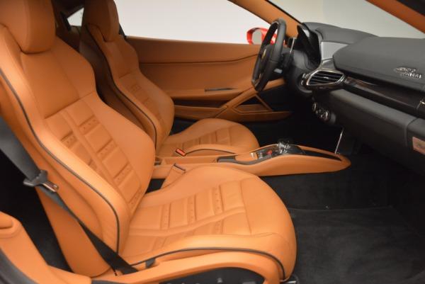 Used 2011 Ferrari 458 Italia for sale Sold at Bentley Greenwich in Greenwich CT 06830 18