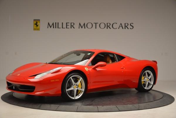 Used 2011 Ferrari 458 Italia for sale Sold at Bentley Greenwich in Greenwich CT 06830 2