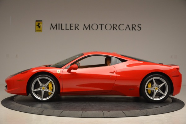 Used 2011 Ferrari 458 Italia for sale Sold at Bentley Greenwich in Greenwich CT 06830 3