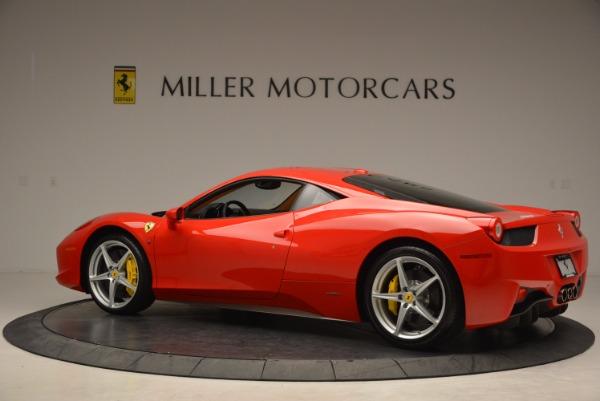 Used 2011 Ferrari 458 Italia for sale Sold at Bentley Greenwich in Greenwich CT 06830 4