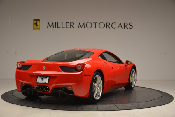 Used 2011 Ferrari 458 Italia for sale Sold at Bentley Greenwich in Greenwich CT 06830 7