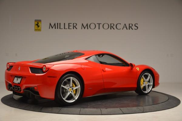 Used 2011 Ferrari 458 Italia for sale Sold at Bentley Greenwich in Greenwich CT 06830 8