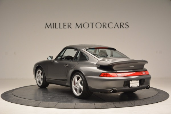Used 1996 Porsche 911 Turbo for sale Sold at Bentley Greenwich in Greenwich CT 06830 5